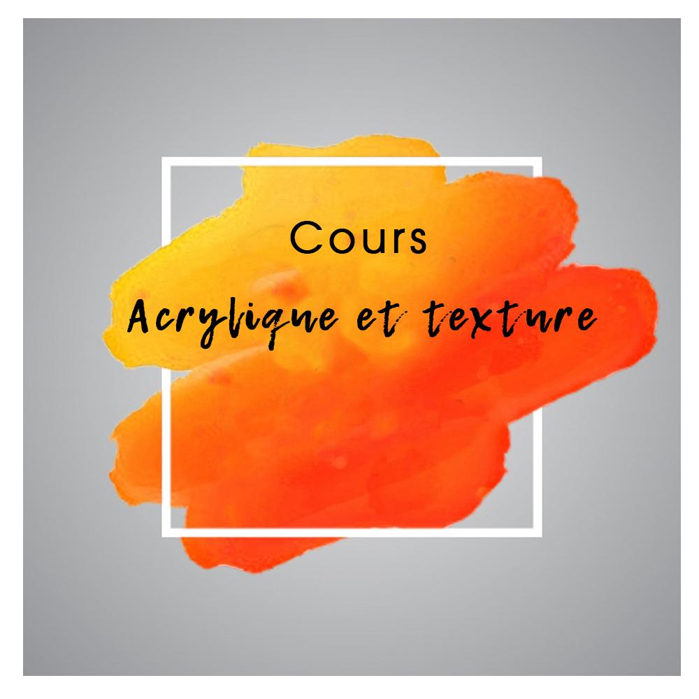 Rel'Art   Cours   Acrylique et texture