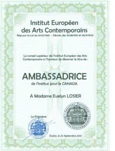 institus des arst Contemporaine Europe1